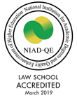 NIAD-UE National Institution for Academic Degrees and University Evaluation LAW SCHOOL ACCREDITED Mar.2014