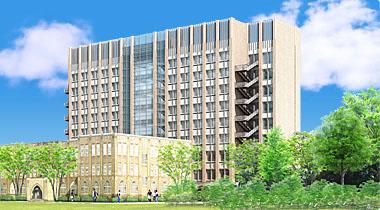 自然科学研究棟(仮称)2009年12月完成予想図